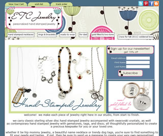 ETC Jewelry - Hand Stamped Jewelry