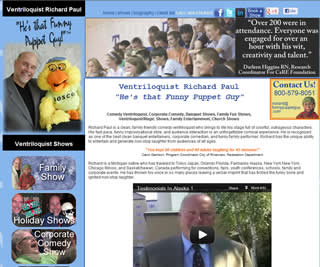 ventriloquist richard paul