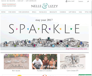 Personalized Jewelry by Nelle and Lizzy