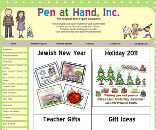 Pen at Hand - The Original Stick Figure Company