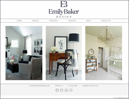 Emily Baker, Interior Design
