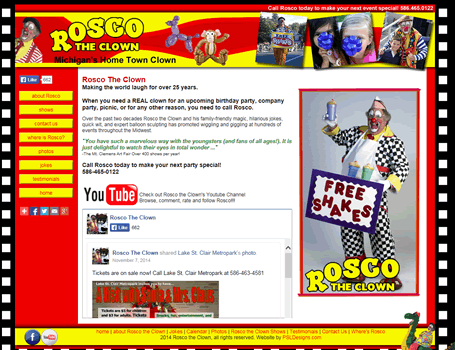 Rosco the Clown